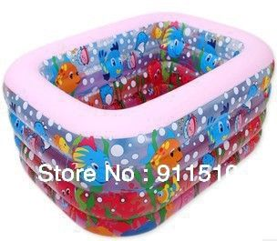 41.80$  Buy now - http://ali6st.worldwells.pw/go.php?t=722101422 - Sea Animal Cartoon Baby swimming plastic pools inflatable Swimming Squareness Babies Safety product piscina juegos inflables 41.80$
