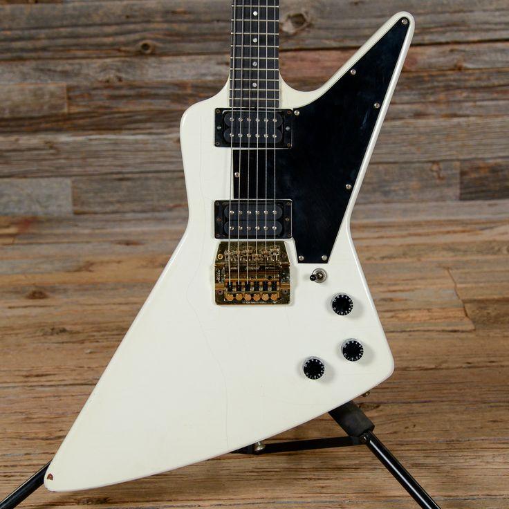 Gibson Explorer White 1987 (s876)