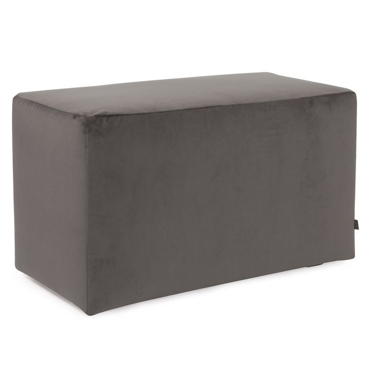 Howard Elliott Bella Pewter Universal Bench   Bench covers, Bedroom bench, Contemporary bench