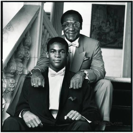 """On Father's Day Bill Cosby posted a photo tribute to his son, Ennis Cosby, on fb.The 75-yo icon posted the quote, """"Ennis William Cosby was our gift. And his gift is for you.'Camille O. and William H. Cosby."""" Ennis overcame dyslexia to become a Morehouse College grad and a Columbia University grad student.The aspiring teacher and brother to his 4 sisters was murdered on a L A freeway in Jan 97. The 27 yo was changing a tire when he was killed during an attempted robbery."""