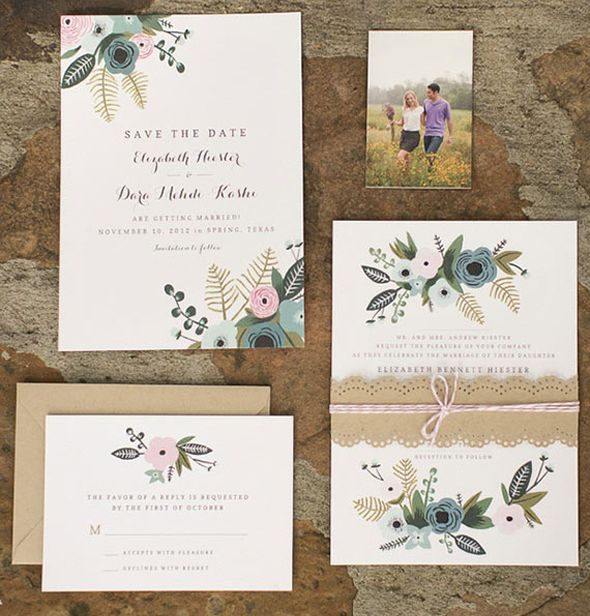 In love with : la papeterie Rifle paper Co