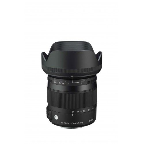 Sigma 17-70 mm F2.8-4 DC MACRO OS HSM | Contemporary voor Canon