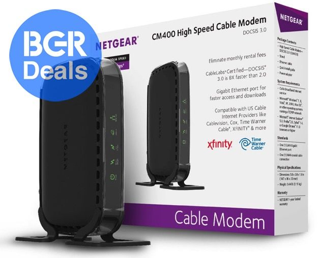 Buy Cable Modem For Time Warner, Comcast and More | BGR