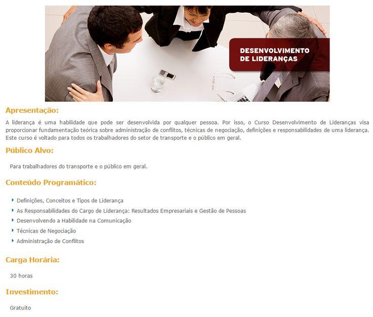 Curso Online Gratuito de Desenvolvimento de Liderança