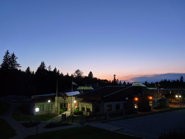 """Great shot of the Walnut Grove Community Center. It is the """"heart"""" of the community."""