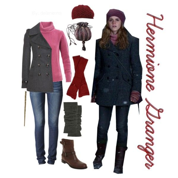 """Hermione Jean Granger"" by delanemo on Polyvore"