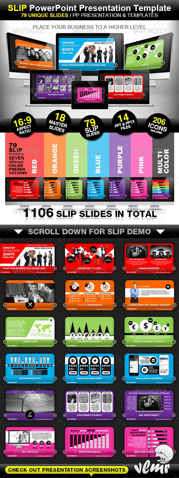 Presentation Templates - Slip Company PowerPoint Presentation Template | GraphicRiver