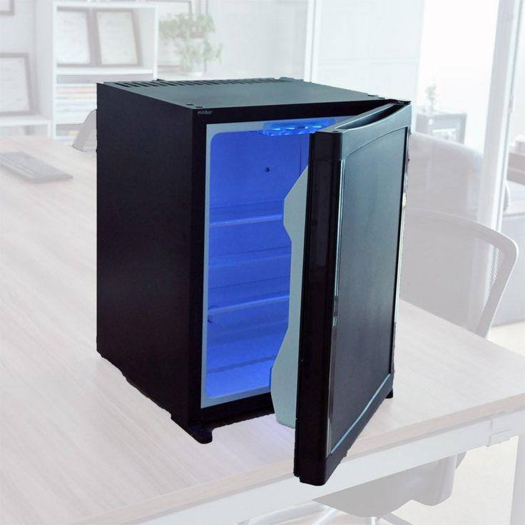 Smad Electric 220V 12V LP Gas Refrigerator Portable Absorption Reversible Door Bar Cooler Low Noice Dorm Hotel Fridge