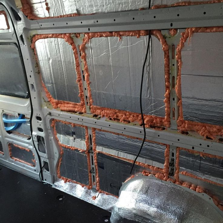 How to insulate a camper van or van conversion