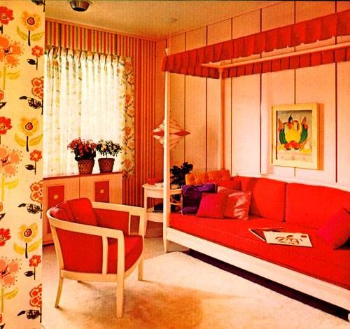 104 Best Images About 1960s Bedroom On Pinterest