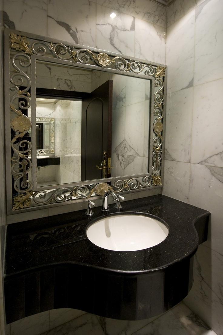 Wrought Iron Bathrooms