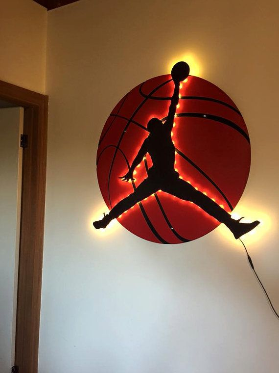 Micheal Jordan Light Man Cave Custom by MAXedOutDesigns on Etsy