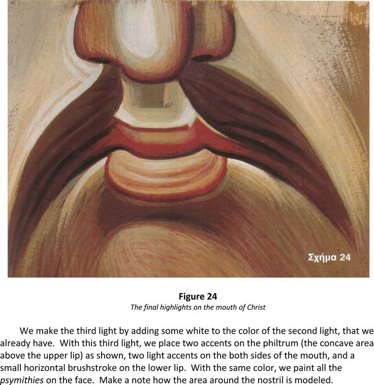 "Dear Friends. We place new fragment FROM THE BOOK OF IOANNIS CHARILAOS VRANOS, ""THE TECHNIQUE OF ICONOGRAPHY"": http://www.versta-k.ru/en/articles/1077/ (Modeling of the face) the translator - Paul Stetsenko (https://www.facebook.com/paul.stetsenko)"