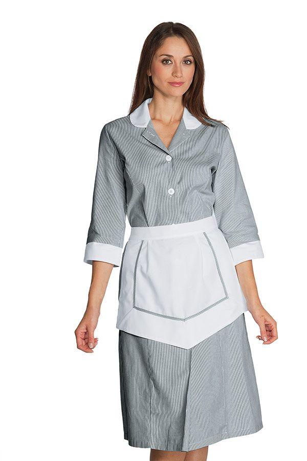13 best housekeeping maid uniforms images on pinterest maid ensemble femme de chambre 100 coton ray noir blanc publicscrutiny Choice Image