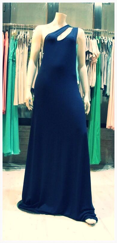 New collection!!navy maxi dress!!!