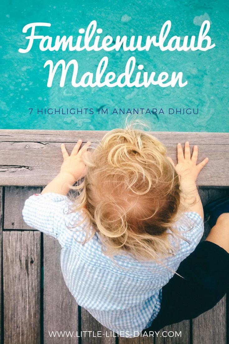 Malediven mit Kind