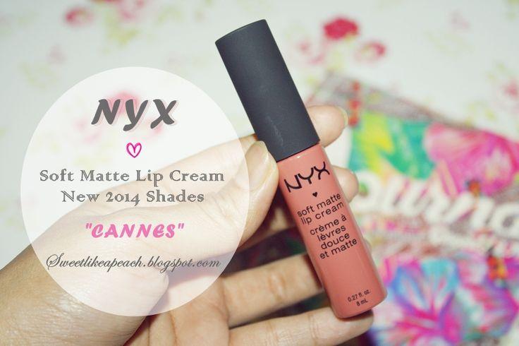 NYX Soft Matte Lip Cream Cannes <3