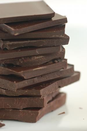 basic recipe for homemade chocolate:    Ingredients  ¼ cup raw organic cacao powder  ¼ cup organic coconut oil  5 mls peppermint essence  8-10 drops liquid stevia    Mix ingredients in a container and freeze for 30 minutes. Break into bite size pieces.