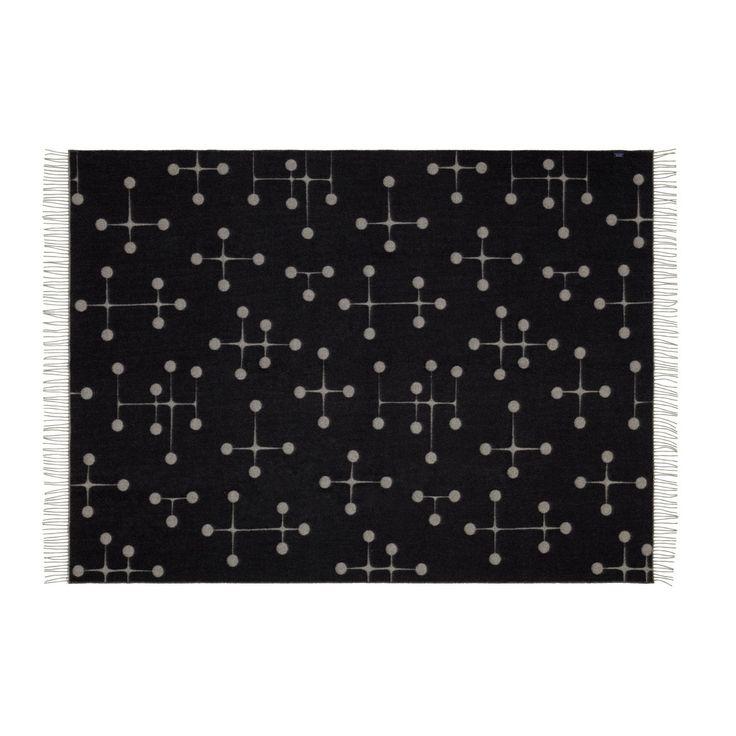 Eames wool blanket Black by Vitra - Shop GoodMood