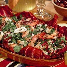 Grilled seafood, Seafood salad and Seafood on Pinterest