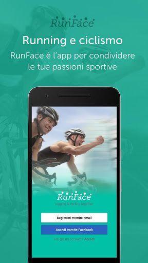 """RunFace per iPhone e Android - l'app social per gli appassionati di corsa e ciclismo! RunFace per iPhone e Android è la nuovissima applicazione """"social"""" dedicata agli appassionati di corsa e ciclismo!  Con questa app potrete visualizzare gli eventi sportivi attorno a voi, creare eve #android #iphone #corsa #ciclismo #sport"""