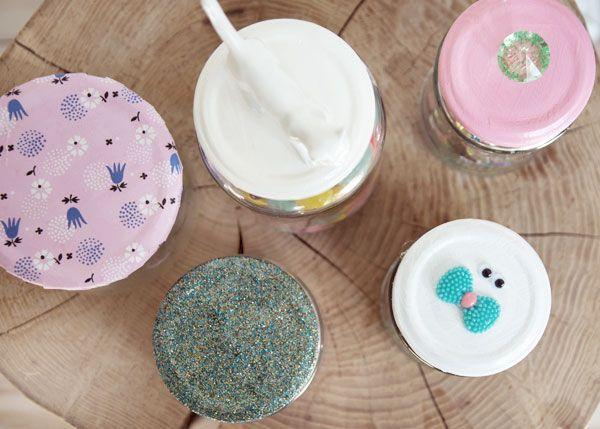 5 nemme DIY til udsmykning af opbevaringsglas