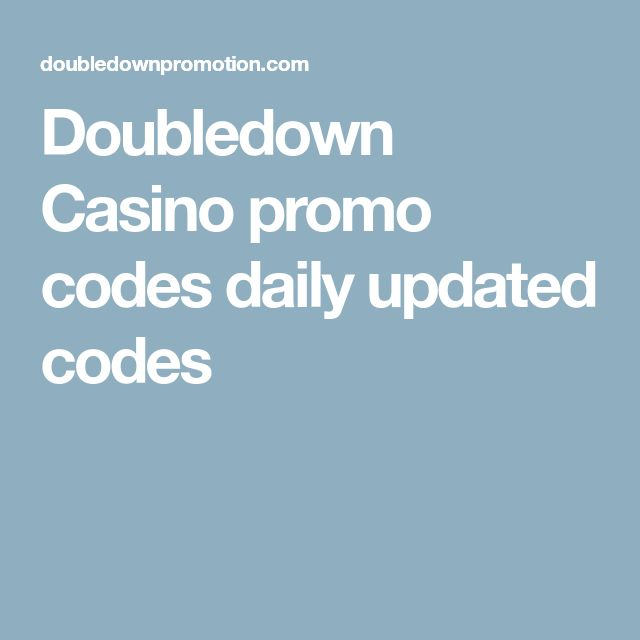 Doubledown Casino promo codes daily updated codes