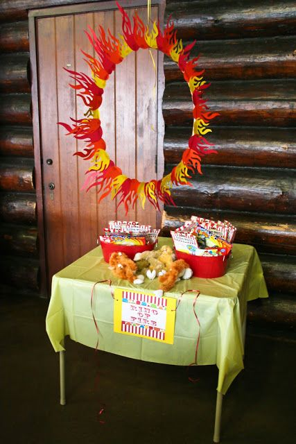 Circus Birthday - Ring of Fire game