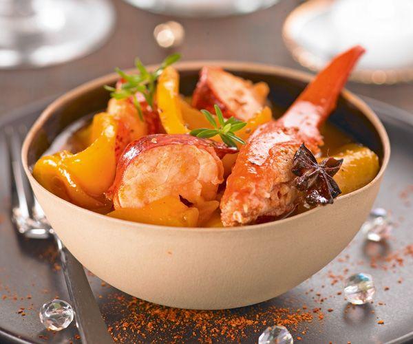 Recette rapide : La salade de homards et mangues