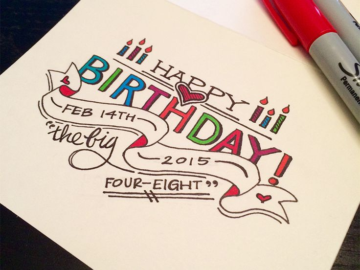 Decided to make a last minute birthday card for my big brother. Pencil sketch and inked version attached.