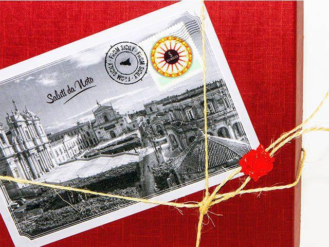 Confezione Idee regalo saluti da Noto prodotti tipici di Sicilia