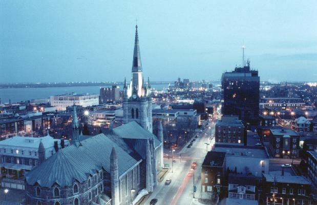 Trois-Rivieres, P.Q., Canada.  Where my maternal great grandfather grew up.