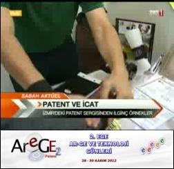 CUKKA™ #Arege2 Sanayi Patentleri Sergisine katıldı ve TRT Televizyonu'nda yer aldı. Göstermiş olduğunuz ilgi için biz de teşekkür ederiz!