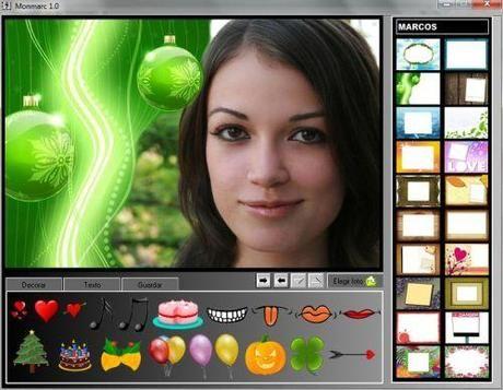 Monmarc - software gratuito per decorare foto e applicare cornici