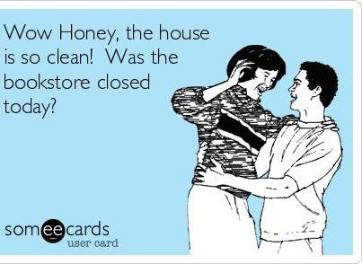This would be something that my Hubby would say.