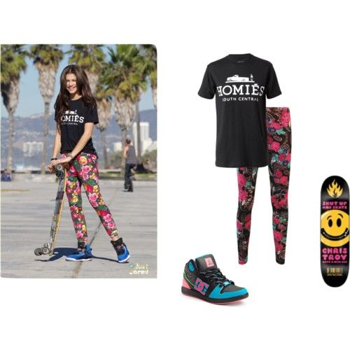 zendaya coleman zapped outfits | zendaya Coleman inspired skate outfit - Polyvore