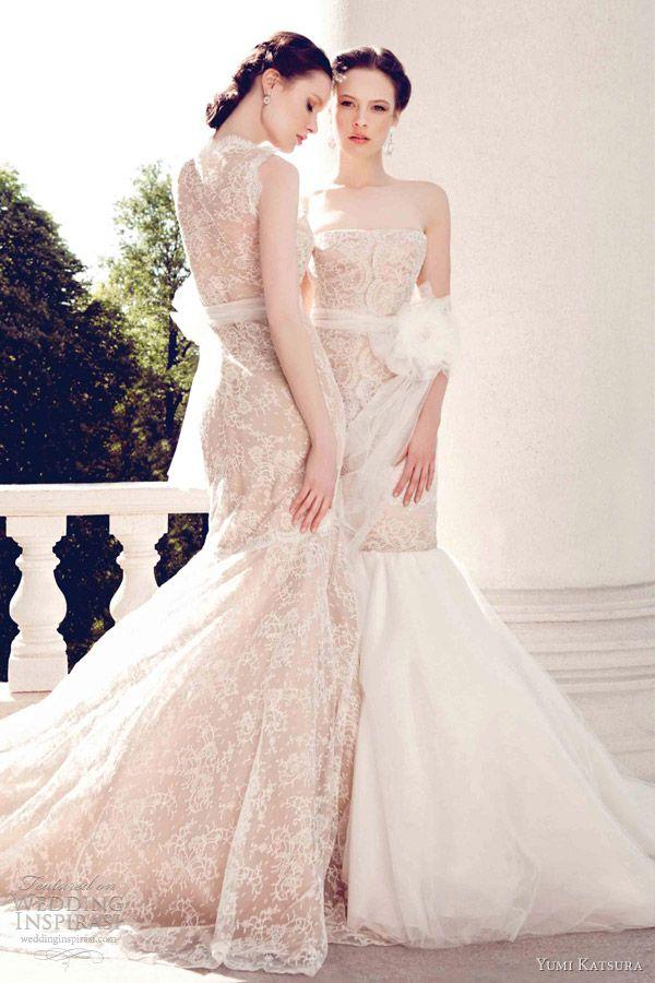 yumi katsura wedding dresses spring 2013 kaiusei mermaid gown