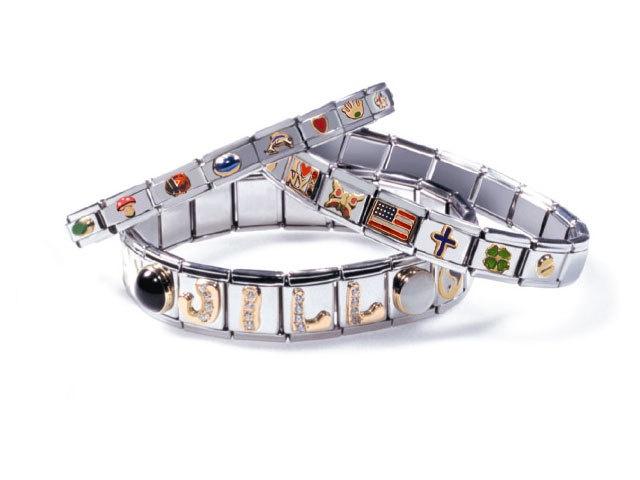 Italian Charm Bracelets Modular Bracelet Take A Few Blank Links With Self On Vacation To Ensure F Floating Charms