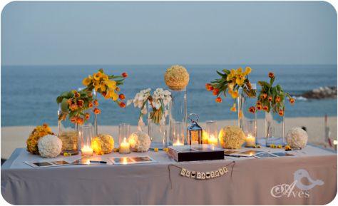 Beach reception Vivid Occasions