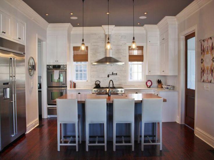 White Kitchen, Dark Floor (minus The Dark Ceiling). Find This Pin And More  On Sarah Richardson Design ... Part 37