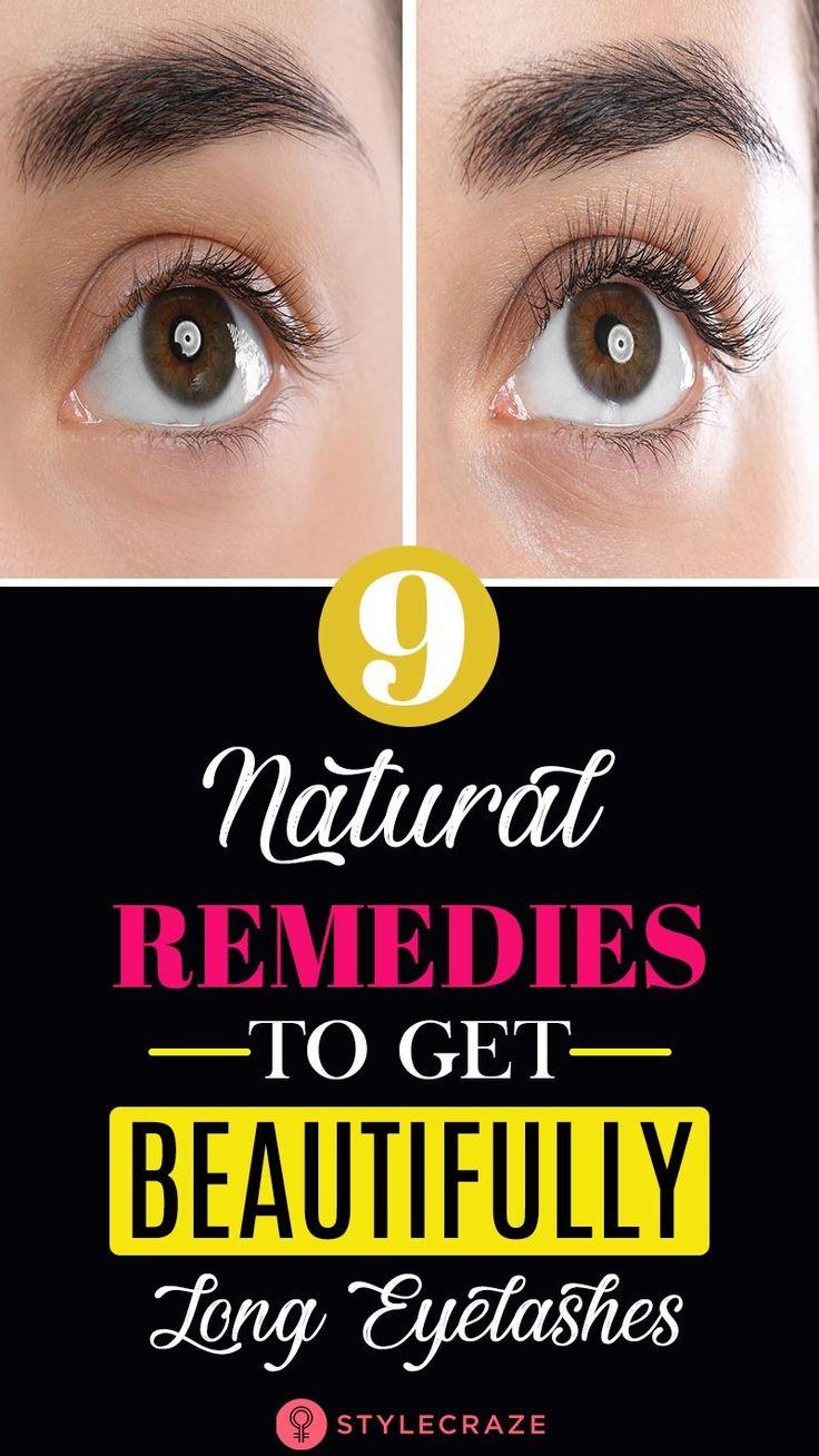10 Natural Remedies To Grow Longer Eyelashes in 2020 ...