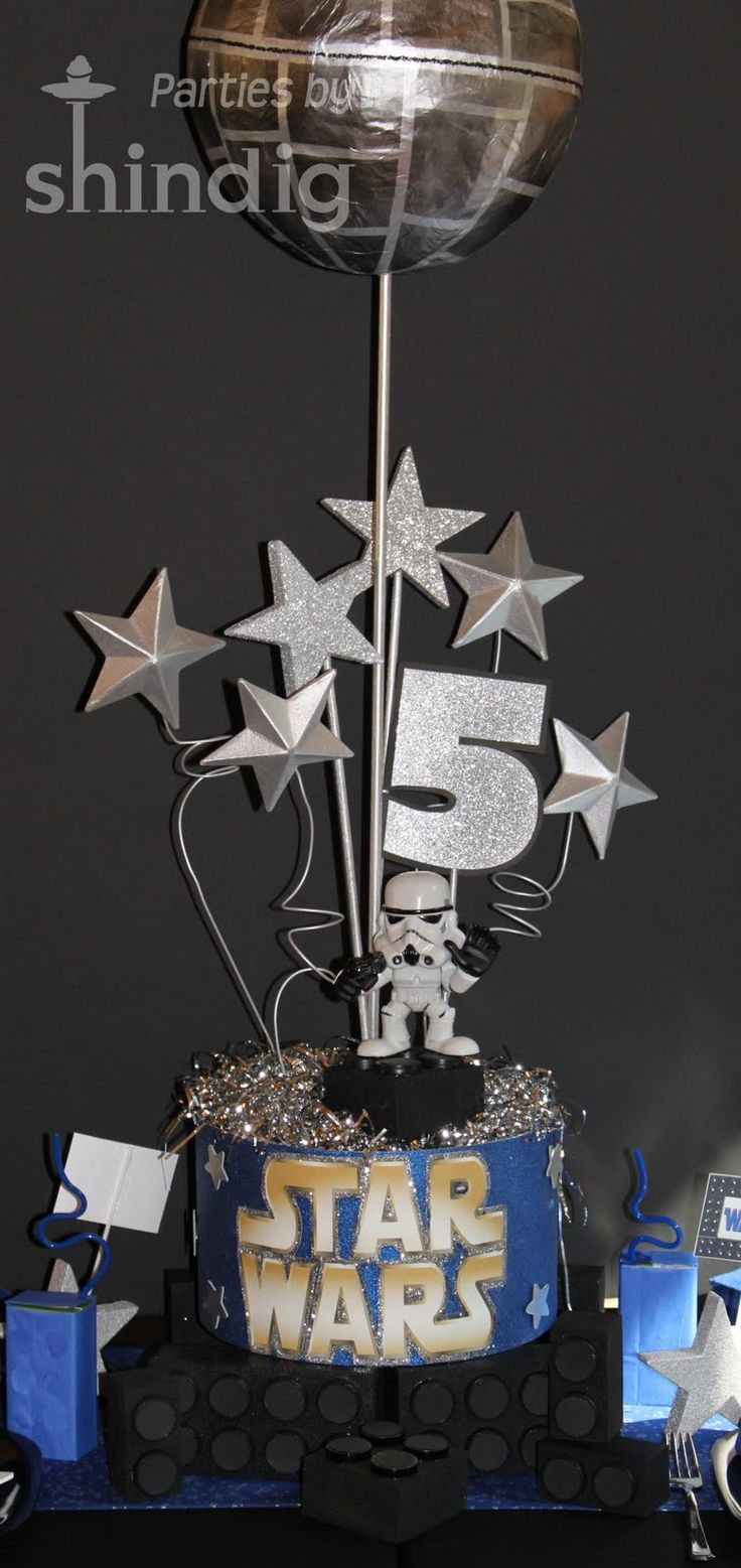 Star wars table decorations star wars party details starwars pinterest star wars party - Decoration table theme star wars ...