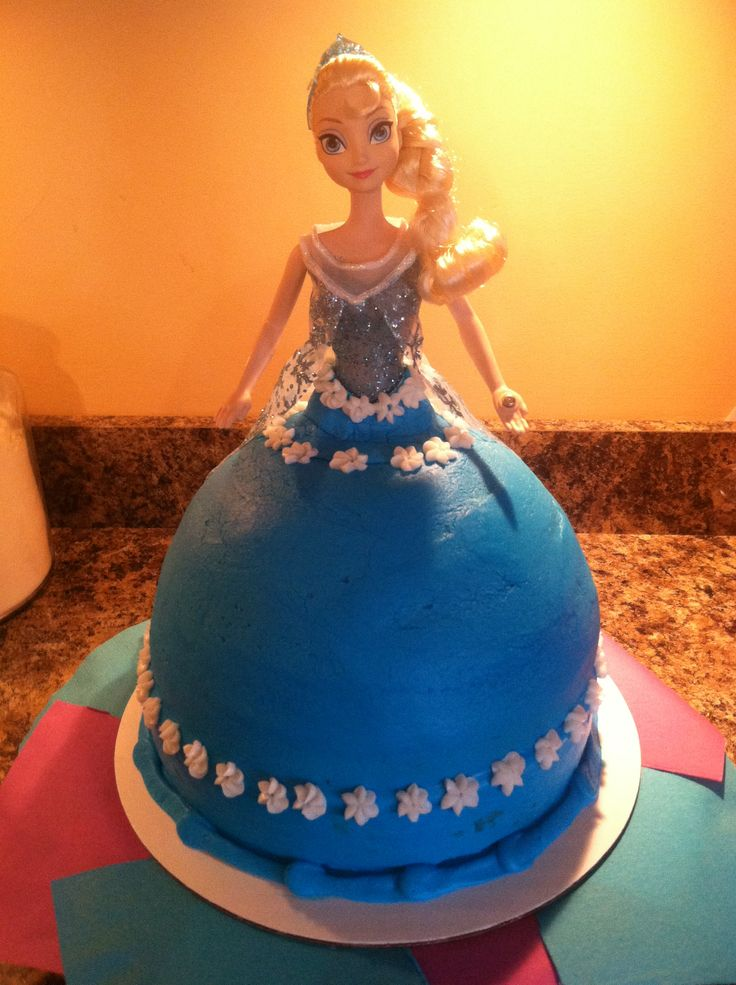 Princess Elsa Cake Images : 123 best images about L & A Sweet Treats on Pinterest ...