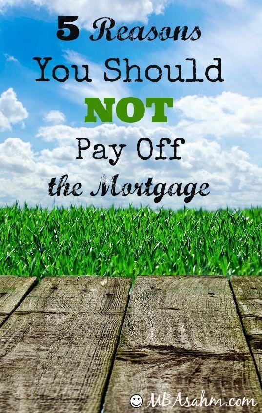 #mortgage #mortgage #reasons #reasons #should #should