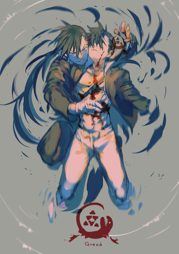 Greed/Ling by http://www.pixiv.net/member_illust.php?mode=medium&illust_id=47179823>>>this....is.....so....AWESOME YET SAD YET *explodes*
