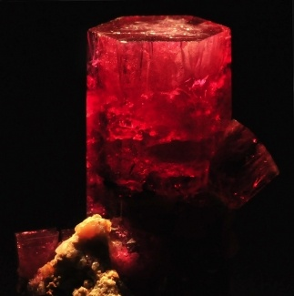 Red Corundrum aka ruby when very excellentGemstones Magic, Bixbite Red, Earth Treasure, Red Beryl, Wah Mountan, Crystals Power, Red Crystals, Minerals, Harry Claim