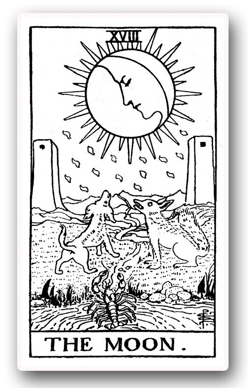 Rider Waite Tarot Line Drawing - Google Search
