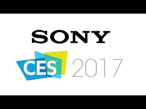 CES 2107 Sony Conference - 4K & HDR Gaming & OLED TV's, 54 Million PS4's...