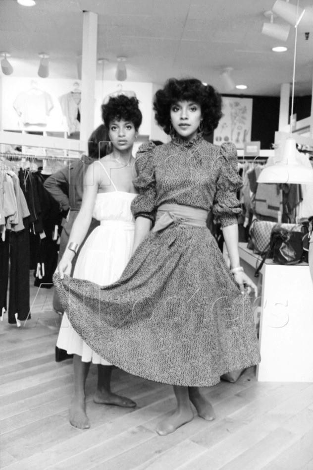 Phylicia Rashad and Debbie Allen.