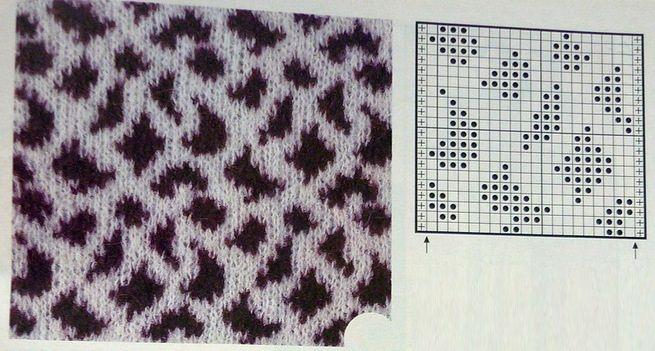 giraffe jacquard pattern